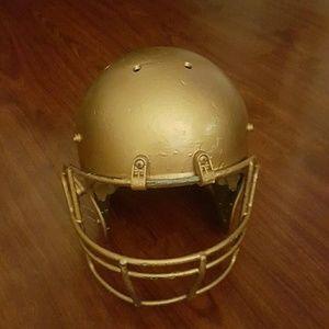 Other - Football helmet gold